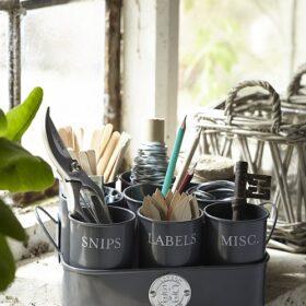 Sophie Conran Gubbins Tin in Grey
